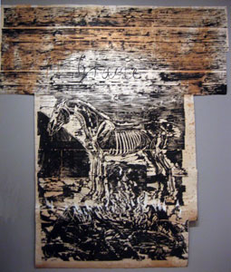 grane_by_anselm_kiefer-_woodcut_with_paint_and_collage_on_paper_mounted_on_linin_museum_of_modern_art_new_york_city